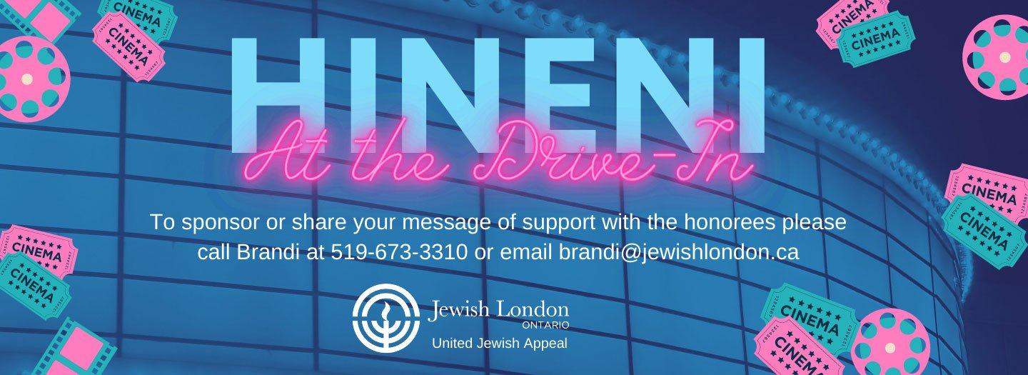 Jewish London Presents Hineni at the Drive-In