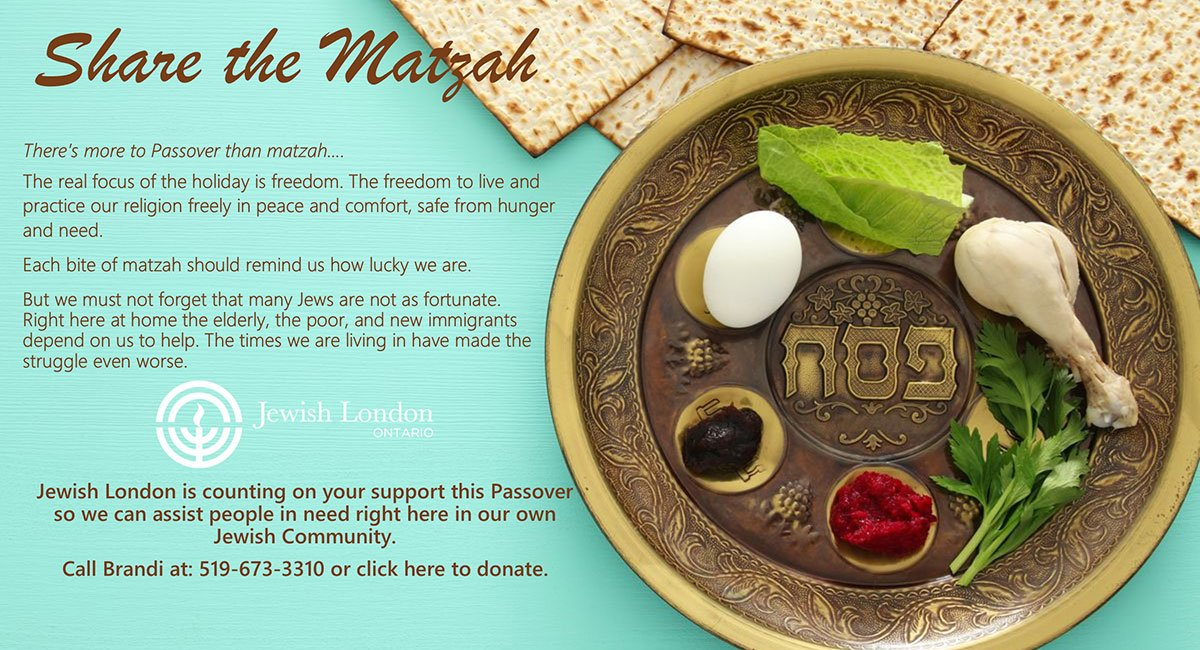 Share-the-Matza London Jewish Community Centre